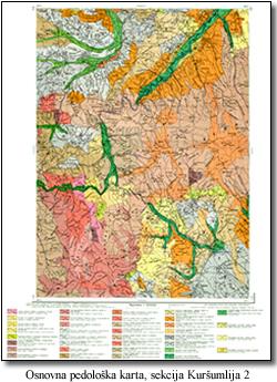 pedoloska karta srbije Institut za zemljište   Odsek   Pedologija pedoloska karta srbije