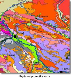 pedološka karta srbije Institut za zemljište   Odsek   Pedologija pedološka karta srbije